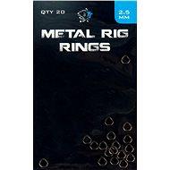 Nash Metal Rig Rings 2,5 mm 20 ks - Krúžok