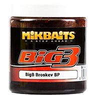 Mikbaits Legends Cesto BigB Broskyňa Black pepper 200 g - Cesto