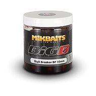 Mikbaits Legends Boilie v dipe BigB Broskyňa Black pepper 24 mm 250 ml - Boilies