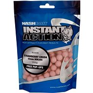 Nash Instant Action Strawberry Crush 12 mm 200 g - Boilies