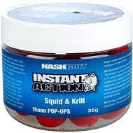 Nash Instant Action Squid & Krill 15 mm 35 g - Pop-up boilies