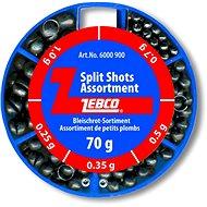 Zebco Split Shot Assortment Fine 70 g - Broky