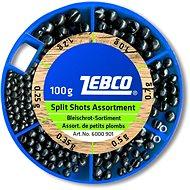 Zebco Split Shot Assortment Fine 100 g - Broky