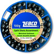Zebco Split Shot Assortment Coarse 100 g - Broky