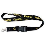 Black Cat Lanyard Keychain