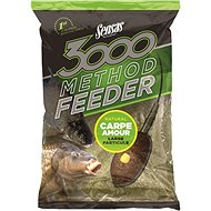 Sensas 3000 Method Feeder Carp Amour 1 kg - Vnadiaca zmes