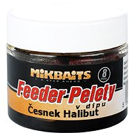 Mikbaits Halibutky v dipe Cesnak 8 mm 50 ml
