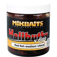 Mikbaits Halibutky v dipe Red fish 14 mm 250 ml - Pelety