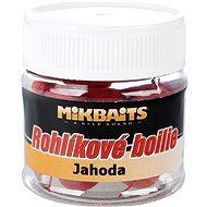 Mikbaits Rohlíkové boilies Jahoda 50 ml - Boilies