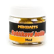 Mikbaits Rohlíkové boilies Med 50 ml - Rožkové boilies