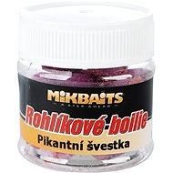 Mikbaits Rohlíkové boilies Pikantná slivka 50 ml - Boilies