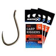 FOX Matrix Carp Riggers Hooks Barbless Veľkosť 14 10 ks - Háčik