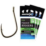 FOX Matrix Feeder Riggers Hooks Veľkosť 12 10 ks - Háčik