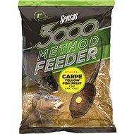 Sensas 3000 Method Feeder Carpe Yellow 1 kg - Vnadiaca zmes