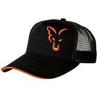 FOX Black & Orange Trucker Cap - Šiltovka