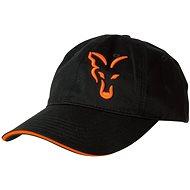 FOX Black & Orange Baseball Cap - Šiltovka