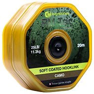 RidgeMonkey RM-Tec Soft Coated Hooklink 25 lb 20 m Camo - Šnúra