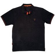 FOX Polo Shirt Black/Orange