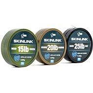 Nash SkinLink Semi-Stiff 25 lb 10 m Weed Green - Šnúra