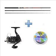 Saenger Plaváková súprava SensiTec Match 3,9 m 3 až 15 g + vlasec - Rybárska súprava