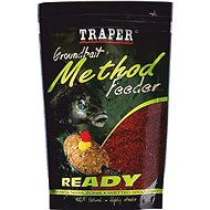 Traper Method Feeder Ready Jahoda 750 g - Vnadiaca zmes