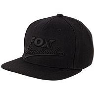 FOX Snapback Cap Black - Šiltovka