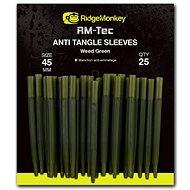 RidgeMonkey RM-Tec Anti Tangle Sleeves 45 mm Zelený 25 ks - Prevlek