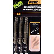FOX Camo Submerge Power Grip Lead Clip Kwik Change Kit 30 lb 3 ks - Montáž