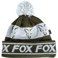FOX Lined Bobble Hat Green/Silver - Čiapka