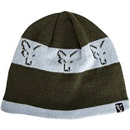c7849160ec FOX Beanie Green Silver - Čiapka