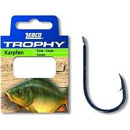Zebco Trophy Carp Hook-to-Nylon Velikost 6 0,28mm 70cm 10ks - Nadväzec