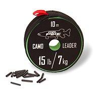 Quantum Mr. Pike Camo Coated Leader Material 7 kg/15 lbs 10 m - Lanko
