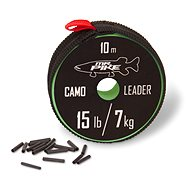 Quantum Mr. Pike Camo Coated Leader Material 14 kg/30 lbs 10 m - Lanko