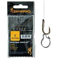 Browning Feeder Trophy Fish Hook-to-Nylon Veľkosť 12 0,22 mm 12 lbs/5,6 kg 75 cm 6 ks - Nadväzec
