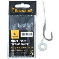 Browning Feeder Leader Method Power Pellet Band Veľkosť 14 0,22 mm 10 lbs/4,5 kg 10 cm 6 ks - Nadväzec