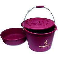 Browning Bucket with Lid and Bowl 30 l - Vedro