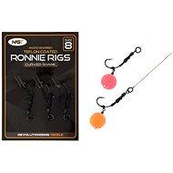 NGT Ronnie Rig & Teflon Hooks Velikost 8 3ks