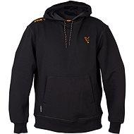 FOX Collection Orange & Black Hoodie Veľkosť XXL - Rybárska mikina