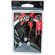 FOX Rage Jig X Heads 5 g Veľkosť 3/0 3 ks - Jigová hlavička