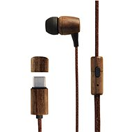 Energy Sistem Earphones Eco Walnut Wood - Slúchadlá
