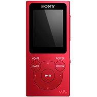 Sony WALKMAN NWE-394R červený - MP3 prehrávač