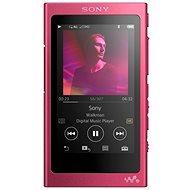 Sony Hi-Res WALKMAN NW-A35 ružový - MP3 prehrávač