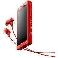 Sony Hi-Res WALKMAN NW-A35 červený + slúchadlá MDR-EX750 - MP3 prehrávač
