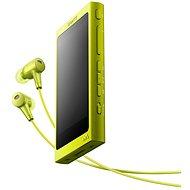 Sony Hi-Res WALKMAN NW-A35 žltý + slúchadlá MDR-EX750 - MP3 prehrávač