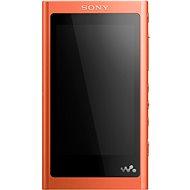 NW-A55L oranžový - MP3 prehrávač