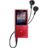 Sony NW-E394L, červený - MP4 prehrávač