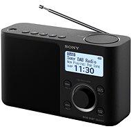 Sony XDR-S61D čierne - Rádio