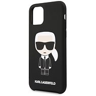 Karl Lagerfeld Iconic pro iPhone 11 Black  - Kryt na mobil