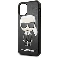 Karl Lagerfeld Embossed iPhone 11 Black - Kryt na mobil
