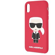 Karl Lagerfeld Full Body Iconic pro iPhone XR Red - Kryt na mobil